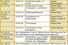 Gottesdienste KK Dez18-Feb19